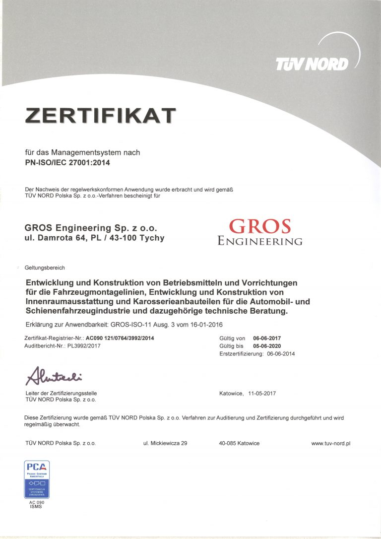 ISO27001:2014